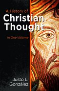 A History of Christian Thought eBook