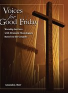 Voices For Good Friday eBook