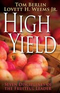High Yield Paperback