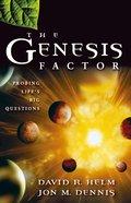 The Genesis Factor eBook