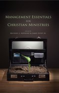 Management Essentials For Christian Ministries eBook