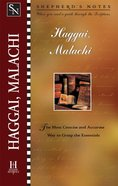 Haggai/Malachi (Shepherd's Notes Series) eBook