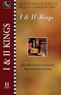 1 & 2 Kings (Shepherd's Notes Series) eBook
