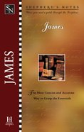 James (Shepherd's Notes Series) eBook