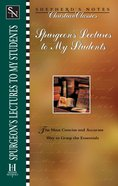 Spurgeon's Lectures to My Students (Shepherd's Notes Christian Classics Series) eBook