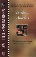 Leviticus/Numbers (Shepherd's Notes Series) eBook