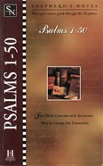 Psalms 1-50 (Shepherd's Notes Series) eBook