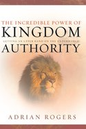 The Incredible Power of Kingdom Authority eBook