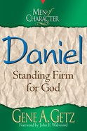 Daniel (Men Of Character Series) eBook