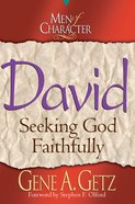 David (Men Of Character Series) eBook