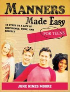 Manners Made Easy For Teens eBook