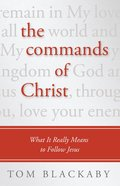 The Commands of Christ eBook