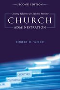 Church Administration eBook