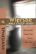 Ephesians (Wiersbe Bible Study Series) eBook