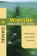 Daniel (Wiersbe Bible Study Series) eBook