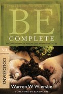 Be Complete (Colossians) (Be Series) eBook
