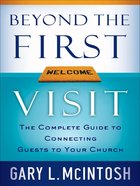 Beyond the First Visit eBook
