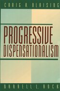 Progressive Dispensationalism eBook