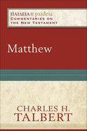 Matthew (Paideia Commentaries On The New Testament Series) eBook