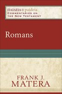 Romans (Paideia Commentaries On The New Testament Series) eBook