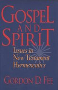 Gospel and Spirit eBook