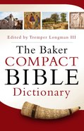 The Baker Compact Bible Dictionary eBook