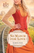 No Match For Love (Ebook Shorts) eBook