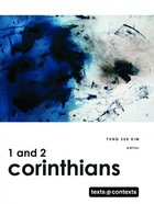 1 and 2 Corinthians (Texts And Contexts Series) eBook