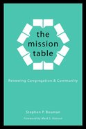 The Mission Table Paperback
