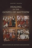 Healing in the Gospel of Matthew eBook