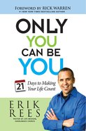 Only You Can Be You Paperback
