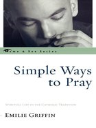 Simple Ways to Pray eBook