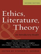 Ethics, Literature and Theory (Second Edition) eBook