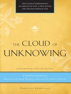 The Cloud of Unknowing (Paraclete Essentials Series) Paperback