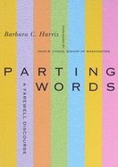 Parting Words Paperback