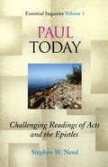 Paul Today Paperback