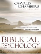 Biblical Psychology eBook