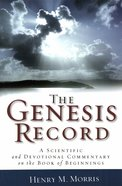 The Genesis Record eBook