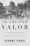 No Greater Valor Hardback
