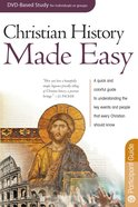Christian History Made Easy (DVD Leader Pack) (Rose Bible Basics Series) Pack