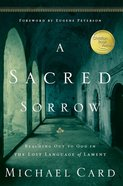 A Sacred Sorrow eBook