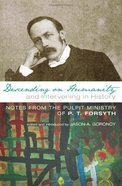 Descending on Humanity and Intervening in History Paperback