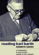 Reading Karl Barth Paperback