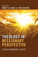 Theology in Missionary Perspective Paperback