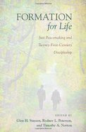 Formation For Life Paperback