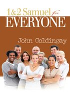 1 and 2 Samuel For Everyone (Old Testament Guide For Everyone Series) eBook