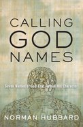 Calling God Names eBook