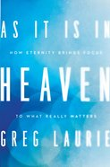 As It is in Heaven eBook