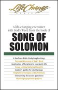 Song of Solomon (Lifechange Study Series) eBook