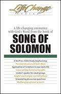 Song of Solomon (Lifechange Study Series) eBook